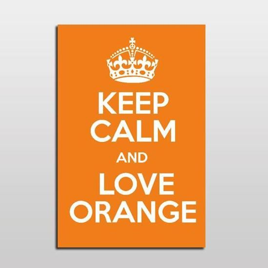 Picture of KEEP CALM and LOVE PORTAKAL