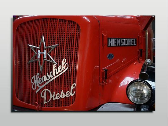 Picture of Henschel Diesel Kanvas Tablo