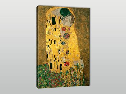 Gustav Klimt The Kiss Kanvas Tablo resmi