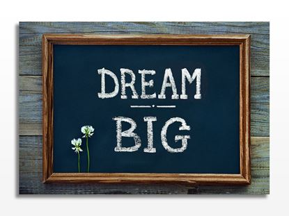 Dream Big Kanvas Tablo resmi