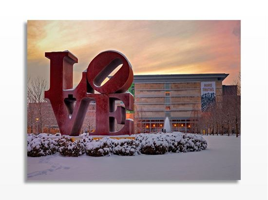 Picture of Robert Indiana Love Heykeli Kanvas Tablo