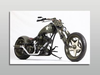 Amerikan Chopper Kanvas Tablo resmi