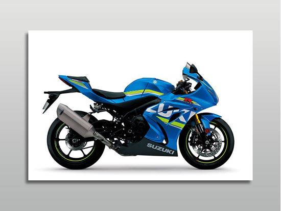 Picture of Suzuki GSX-R 1000 Motorsiklet Kanvas Tablo