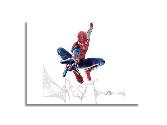 Picture of Spiderman Reset Kanvas Tablo