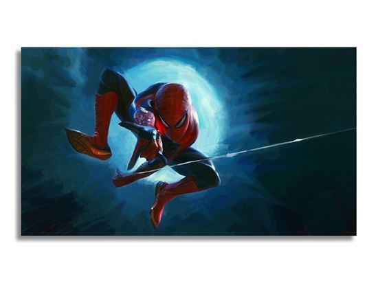 Picture of Spiderman Ağ Kanvas Tablo