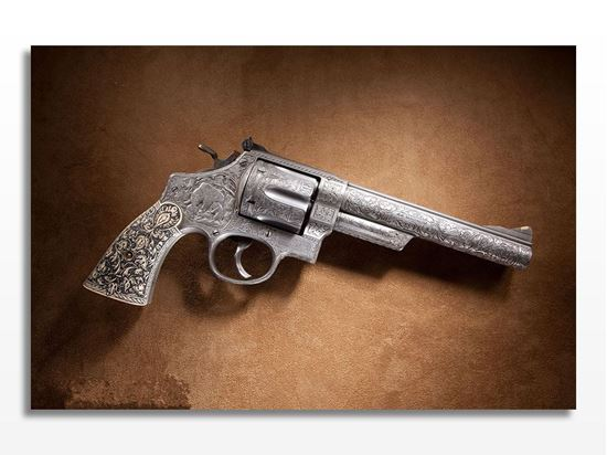 Picture of Smith Wesson Silah Kanvas Tablo