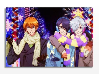 Brothers Conflict Natsume Christmas Kanvas Tablo resmi