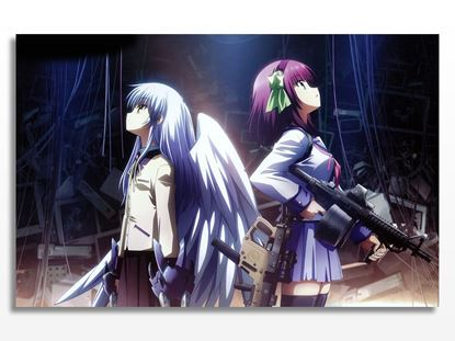 Angel Beats fantezi film Kanvas Tablo resmi