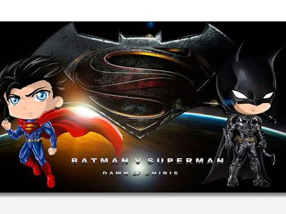 Batman ve Superman Kanvas Tablo resmi