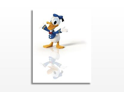 Donald Duck Kanvas Tablo resmi